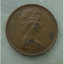 1617 Inglaterra 1976 Two Pence Elizabeth I I 26mm - Bronze
