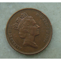 1614 Inglaterra 1993 Two Pence Elizabeth I I 26mm - Bronze