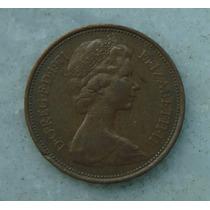 1902 Inglaterra 1971 Two Pence 26mm - Bronze Elizabeth