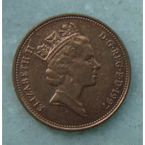 1904 Inglaterra 1997 Two Pence 26mm - Bronze Elizabeth