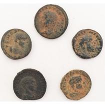 Lote De 5 Moedas Antigas Do Império Romano Cunhadas N Síria2