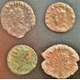 Lote 4 Moedas Antigas Antonianinus Maravil. Império Romano 2