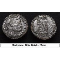 Moeda Imperio Romano Maximianus 285 A 286 Dc Roma Antiga