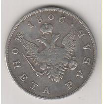 Moeda Data Antiga 1806 38 Mm 21,1 Gr.rússia Réplica R$ 32,00