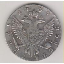 Moeda Data Antiga 1749 40 Mm 26,4 Gr Moneta Réplica R$ 35,00