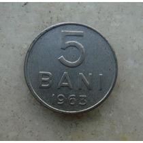 4805 Republica Socialista Romenia 5 Bani, 1963 Inox, 10mm