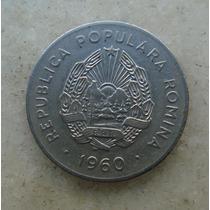 4807 Republica Popular Romenia 25 Bani, 1960, Inox, 22mm