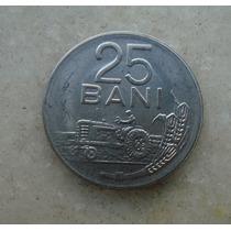 4803 Republica Socialista Romenia 25 Bani, 1966, Inox, 22mm