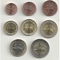 Set Euro Completo - Lituânia - 2015