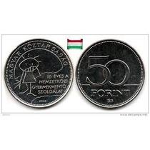 Moeda Da Hungria 50 Forint 2005 Children