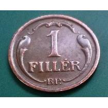 Moeda Da Hungria - 1939 - 1 Fillér - Mbc