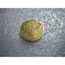 Moeda De 10 Centavos De Euro Espanha Ano 2001