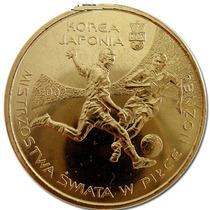 Polônia Moeda Comemorativa Copa Do Mundo Coreia/japão 2002