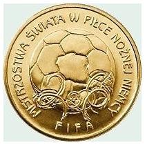 Polônia Moeda Comemorativa Copa Do Mundo Da Alemanha 2006