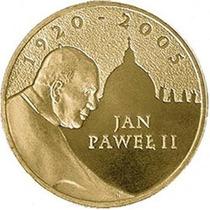 Polônia - Moeda Comemorativa, Papa João Paulo Ii 2 Zl 2005