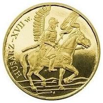 Moeda Polônia Cavaleiro Polonês: Winged Cavalry 2009 Fc