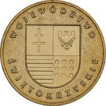 Moeda Polônia Comemorativa Swietokrzyskie 2 Zloty 2006 Fc