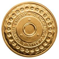 Polônia - Moeda 2007,75th Breaking Enigma Codes