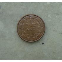 7797 - Portugal 1 Cent De Euro 2004, Sob, 16mm