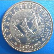 Portugal Moeda- Tanegashima-450 Anos Chegada Ao Japão=1993