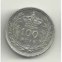 100 Réis - Portugal - 1910 - Prata