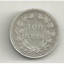 100 Réis - 1893 - Portugal - Prata