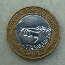9581 - Brasil 1 Real 2002 - Esfinge Olhando P/ Cima - Mbc