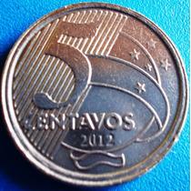 Brasil-moeda Veridade 50 Centavos Sem O Zero-muito Rara