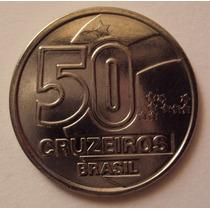 Moeda Brasileira Antiga - 50 Cruzeiros 1991 Frete Grátis