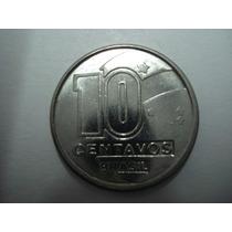 (b87) Moeda 10 Centavos 1989