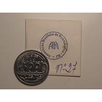 Moeda 5.000 - 1992 Cr$ Nº 27 Leilão Especial Abn - 1993