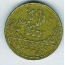 Moeda 2 Cruzeiros 1945