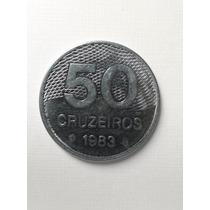 Moeda De 50 Cruzeiros - 1983 - Mbc