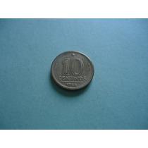 Moeda De 10 Centavos De 1944 Sem Sigla Linda