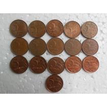 Moedas De 5 Centavos Coleção Escassa 1998/2014 - Muito Rara