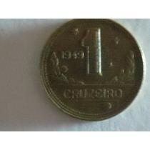 Moeda Rara Com Reverso Horizontal De 1 Cruzeiro 1949 Lot 443