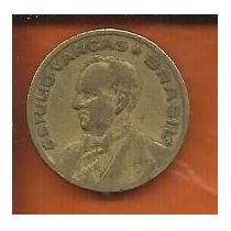 Moeda Brasil 20 Centavos Cruzeiro 1944 G. Vargas Com Sigla