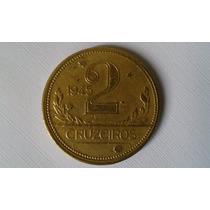 Moeda 2 Cruzeiros 1945 - Bronze Alumínio