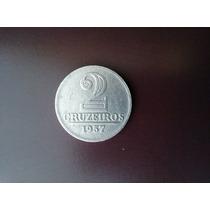 Moeda De 2 Cruzeiros De Alumínio 1957