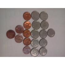 Série Moedas 1 Centavo De Real 1994 A 2004 - R$2,00cada.