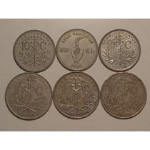 Bolivia) 10 Cents. 1908/1909/1918/1936/1937/1939 - Escassas