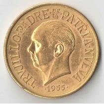 Republica Dominicana 30 Pesos Ouro 1955 29,62 Gr Rara