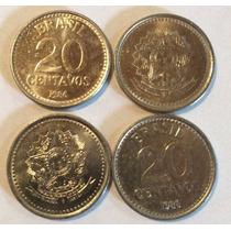 Moeda Antiga De 20 Centavos 1986 E 87