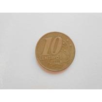 Moeda Rara De 10 Centavos 1998 - Difícil De Encontrar