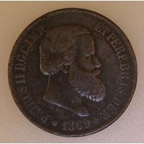 Moeda Bronze 20 Rs 69 - Soberba - Oportunidade Imperdível!!!
