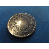 Moeda 200 Reis Rara Para Coleçao Estados Unidos Brazil 1889