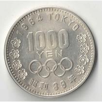 Japao 1000 Yen Prata Linda Olimpiadas