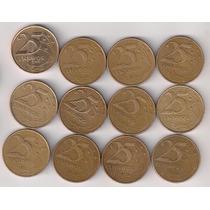 Real Moeda 25 Centavos De Real - Ano 2000
