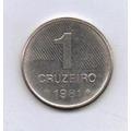 Brasil Moeda 1 Cruzeiro 1981 Cana De Açucar - Preço Fixo