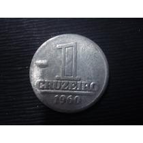 (a87) Moeda 1 Cruzeiro 1960 Aluminio